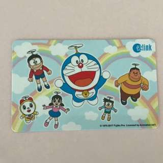 Rainbow Doraemon Ezlink card