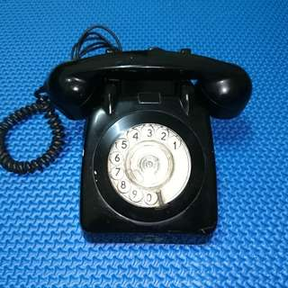🆒 Vintage 1970s J&T Rotary Dial Telephone