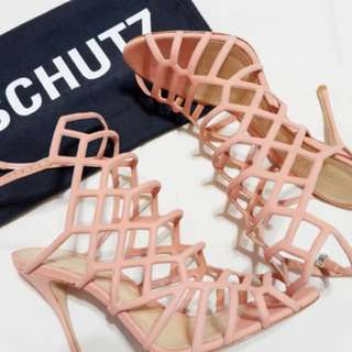 Juliana caged sandals