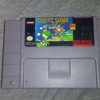 Super Nintendo Yoshi's Safari