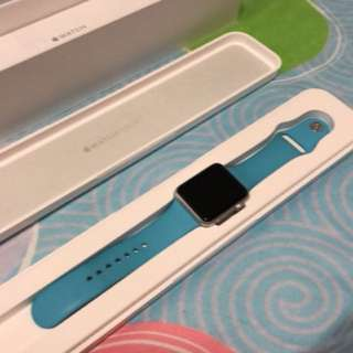 Apple Watch 42mm blue sport