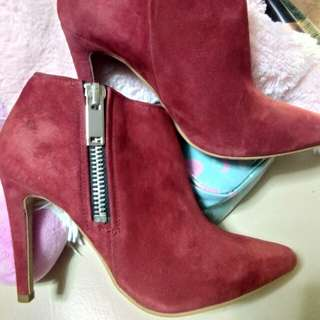 H&M Red boots (Repriced)