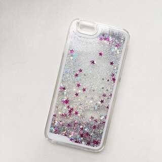 IPhone 6/6s Silver Pink Glittery Case
