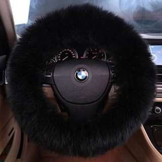Faux Fur Steering wheel