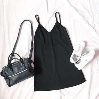 Black Slip On Dress