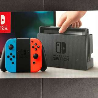 Nintendo Switch (Neon)