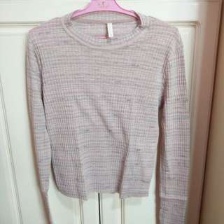 Pink stripped long sleeves