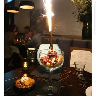Firework Sparkle Special Birthday Candle