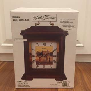 [Brand New] Seth Thomas Wooden Clock