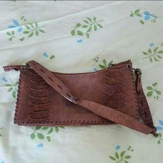 Dolce and gabbana leather handbag