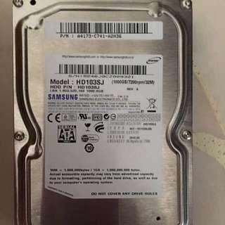 Samsung 1TB 3.5 HDD 7200RPM