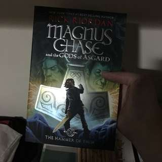 Magnus chase and the guards of Asgard: the hammer of thor