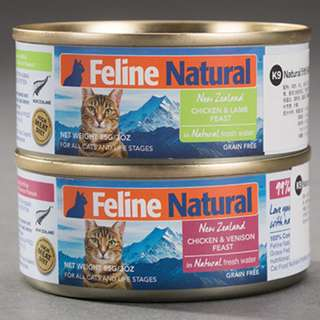 Feline Natural Cat Food 85g, 6 cans