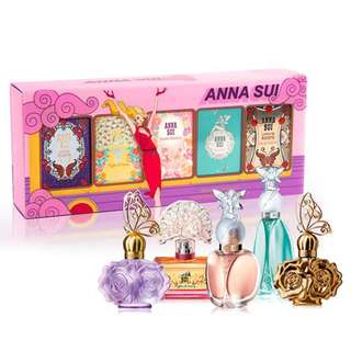 **Inspired**ANNA SUI Miniature Perfume Collection