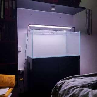 Aquarium Tank & Cabinet