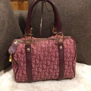 Authentic Christian Dior Boston With Lock no key