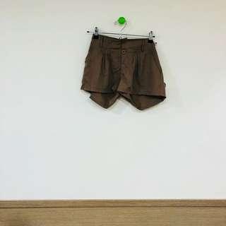 🚚 二手 深棕 短褲