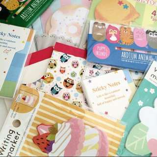 Post it sticky notes grab bag