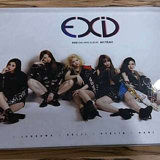 EXID Ah Yeah ( 2nd Mini Album)