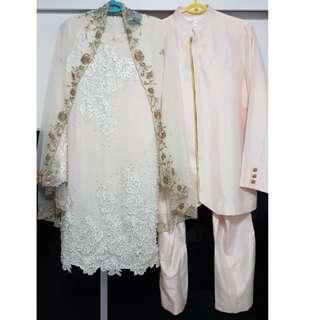 Couple Wedding Outfit / Baju Pengantin / Baju Nikah for Rent