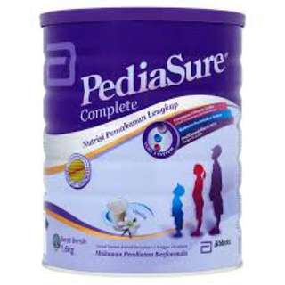 Pediasure Complete Nutrition Milk Powder Vanilla