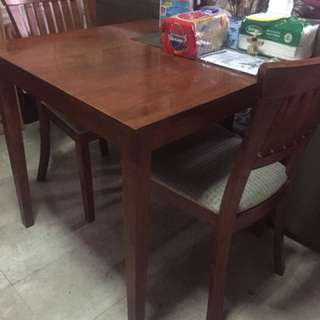 Dining Set (1 Table with 2 Chairs)