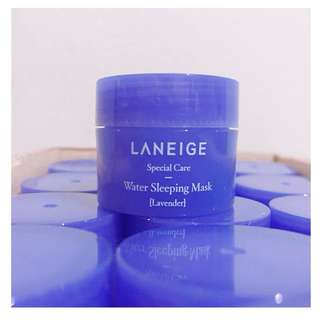 Water Sleeping Mask Lavender 15mL
