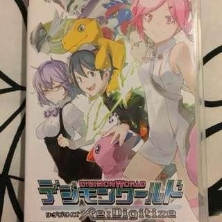 (中古)數碼暴龍世界 Digimon World Re:Digitize(日文版)