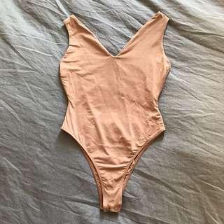 Kookai Nude Bodysuit 2
