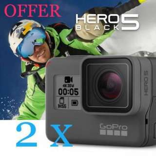 SALE: 2 x [GoPro] HERO 5 Black @ $730 // 1 @ $380