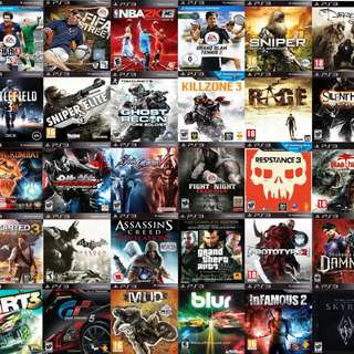PS 3 / CPU / XBOX 360 GAMES