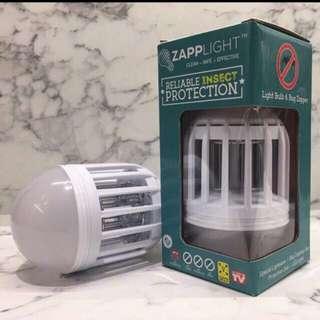 Zapplight Mosquito Repellant & LED Light Bulb