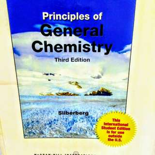 Principles of General Chemistry 3rd edition - Silberberg
