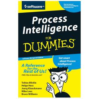 Process Intelligence For DUMMIES