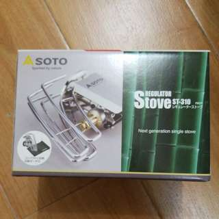 Soto regulator Stove ST-310 露營
