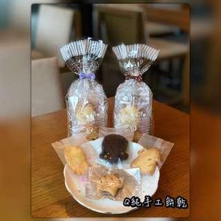 [Q純手工餅乾]小包裝80g香濃巧克力、清新檸檬、香橙果粒、香濃起司