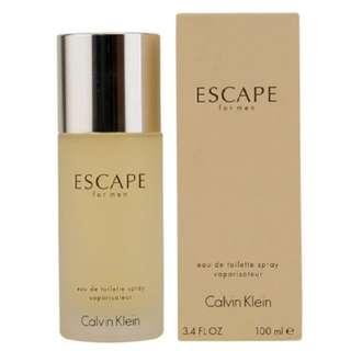 Calvin Klein Escape Eau De Toilette Spray For Men 100ml