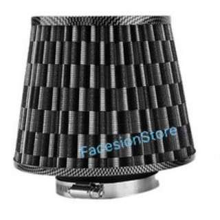 Universal Racing Sport Air Filter 3inch Hole (Carbon)