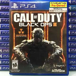 [PS4] Call Of Duty: Black Ops 3