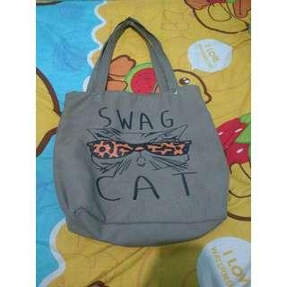 Totebag cat