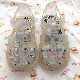 Baby Gap clear Jelly Shoes
