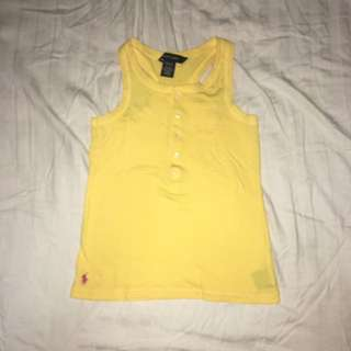 Pre-owned Ralph Lauren Racerback Top