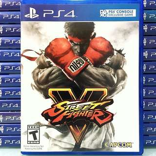 [PS4] Street Fighter V