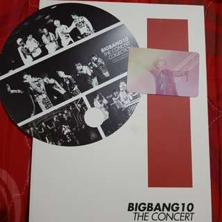 Limited Edition Kpop Group BIGBANG10 The Collection
