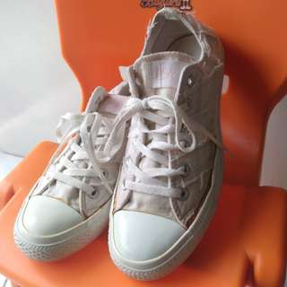 CONVERSE classic ripped White SIZE 39,5