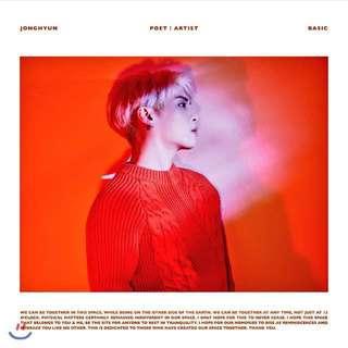 JONGHYUN's POET | ARTIST
