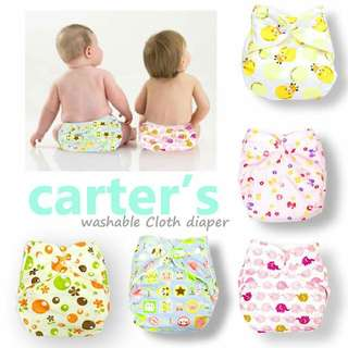 CARTER CLOTH DIAPER With INSERT