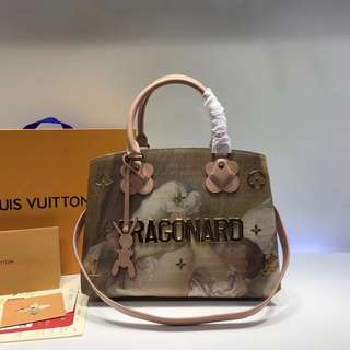 LV Louis Vuitton 路易威登  M43386 Montaigne手袋 尺寸33 x 23 x 15