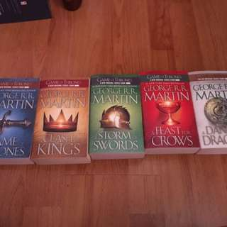 Game of Thrones COMPLETE SET
