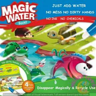Magic Water Coloring Painting Book Colouring